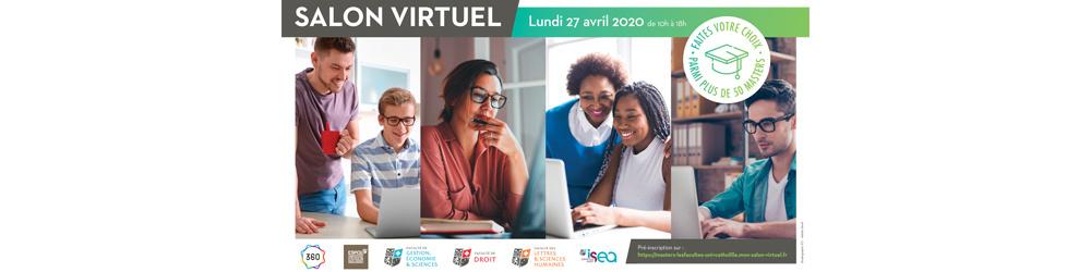 Salon Virtuel Masters des Facultés de l'Université Catholique de Lille