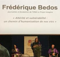 Le Projet Imagine, Frédérique Bedos Docteur Honoris Causa